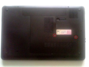 снятие болтов с крышки ноутбука hp pavilion g7 g7-1351er